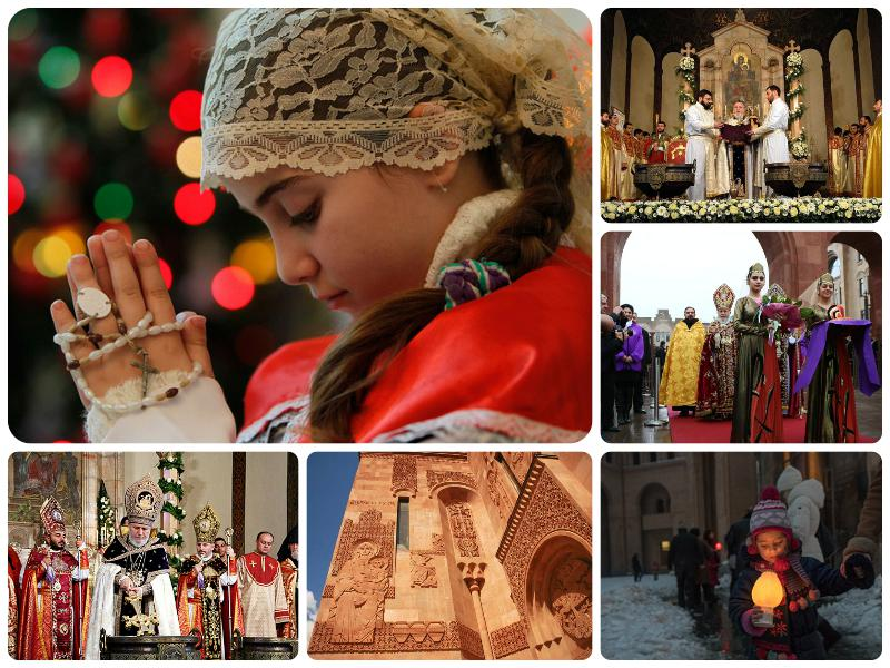 Поздравления с армянским рождеством на армянском